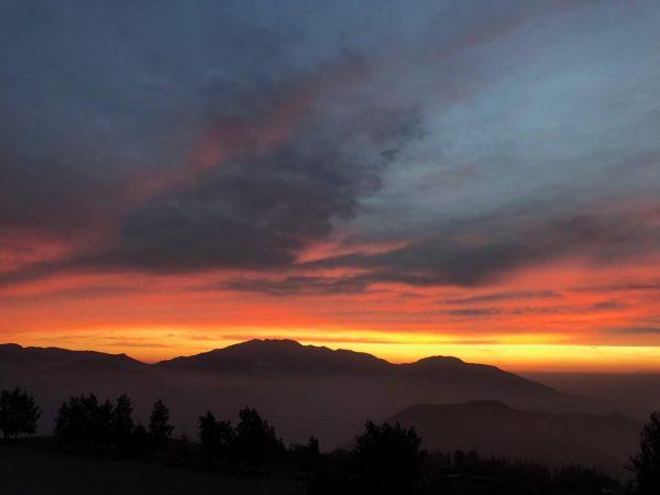 Cordilheira Sunset Valle Nevado - Do Brasil Para o Mundo - Santiago 4