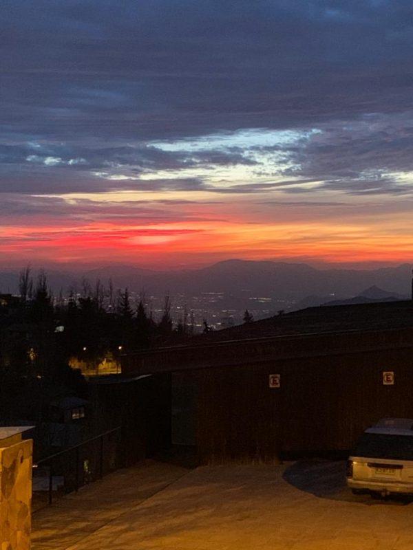 Cordilheira Sunset Valle Nevado - Do Brasil Para o Mundo - Santiago 5
