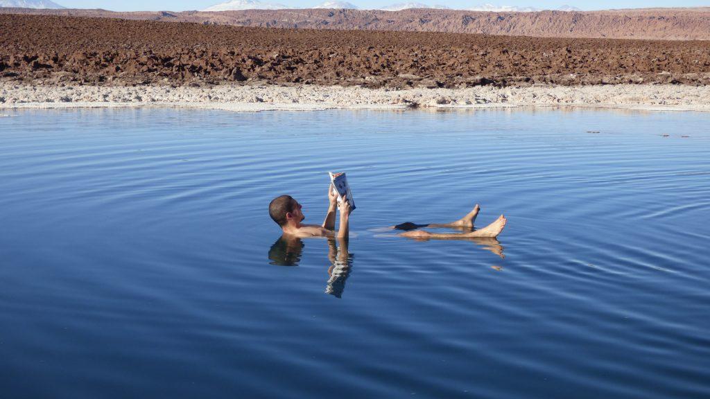 Lagunas Escondidas Foto Boiando