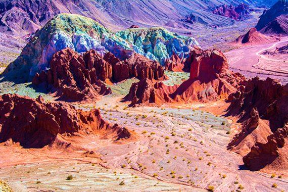 valle del arcoiris
