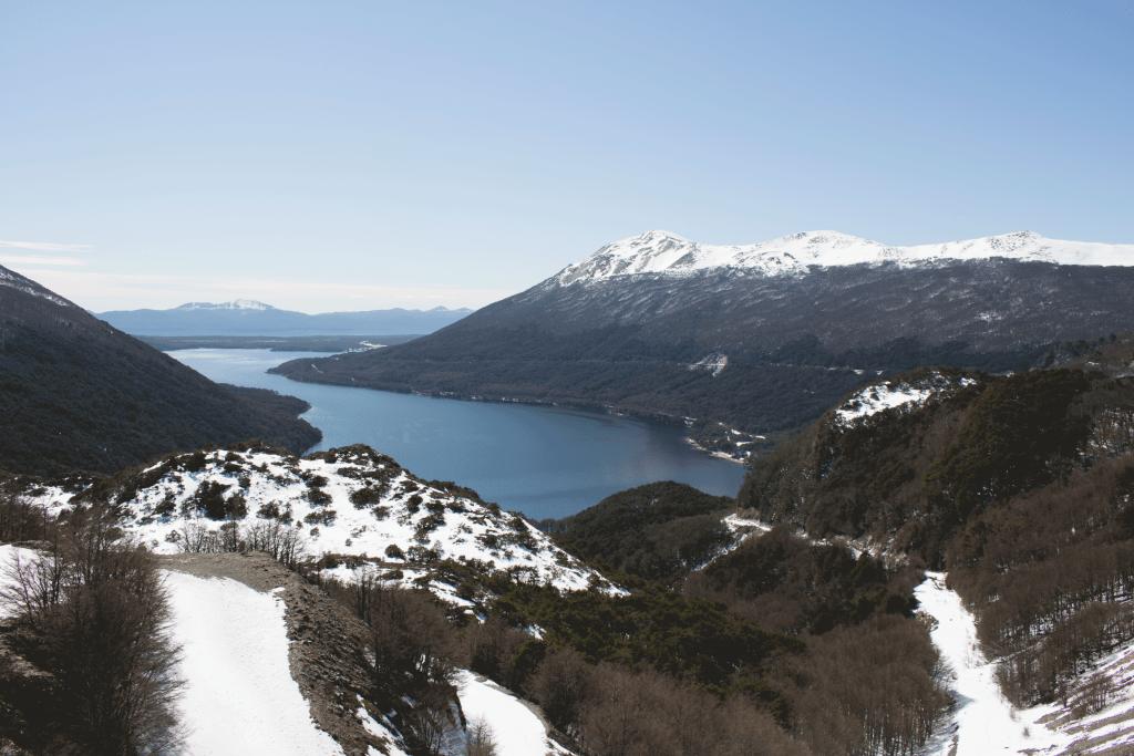 mirante paso garibaldi vista lago fagnano e escondido