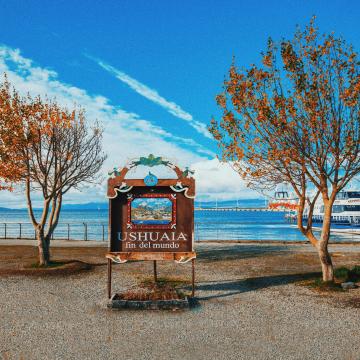 placa fim do mundo ushuaia