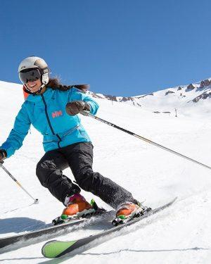 Foto divulgação valle nevado ski day
